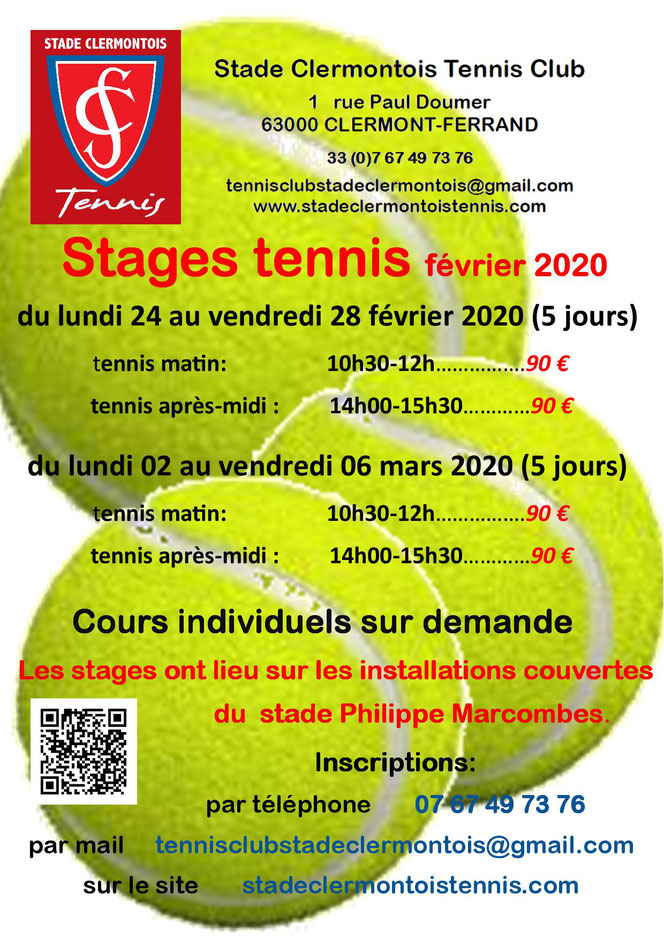 Stage tennis